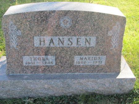 HANSEN, MARIUS - Franklin County, Iowa | MARIUS HANSEN