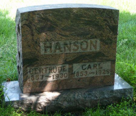 GARDALEN HANSON, GERTRUDE - Franklin County, Iowa | GERTRUDE GARDALEN HANSON