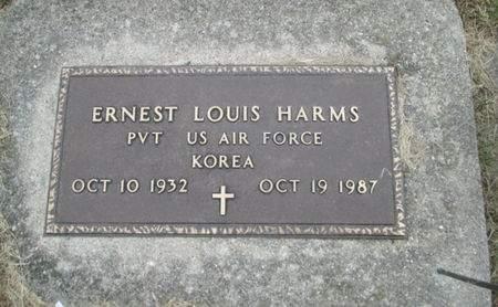 HARMS, ERNEST LOUIS - Franklin County, Iowa | ERNEST LOUIS HARMS