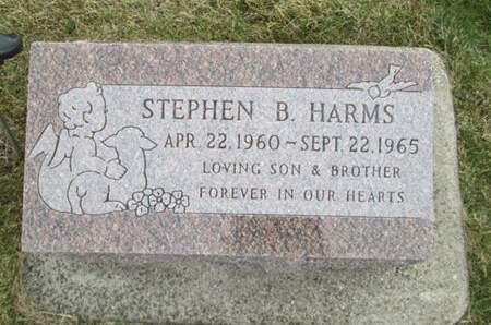 HARMS, STEPHEN B. - Franklin County, Iowa | STEPHEN B. HARMS