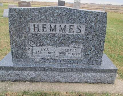 HEMMES, HARVEY - Franklin County, Iowa | HARVEY HEMMES