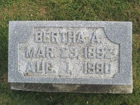 HEUBERGER, BERTHA A. - Franklin County, Iowa | BERTHA A. HEUBERGER