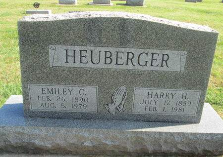HEUBERGER, HARRY H. - Franklin County, Iowa | HARRY H. HEUBERGER