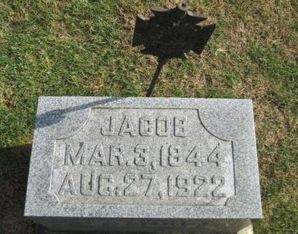 HEUBERGER, JACOB - Franklin County, Iowa   JACOB HEUBERGER