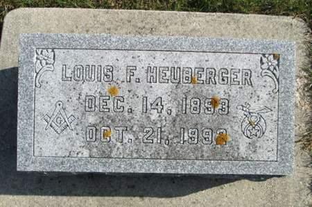 HEUBERGER, LOUIS F. - Franklin County, Iowa   LOUIS F. HEUBERGER