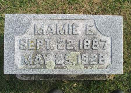 HEUBERGER, MAMIE E. - Franklin County, Iowa   MAMIE E. HEUBERGER