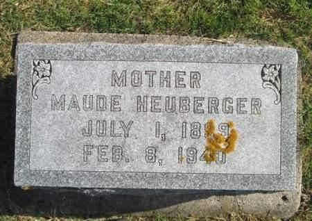 HEUBERGER, MAUDE - Franklin County, Iowa | MAUDE HEUBERGER
