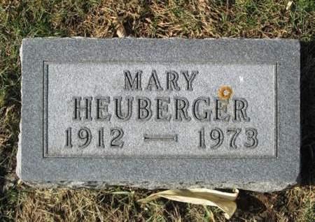 HEUBERGER, MARY - Franklin County, Iowa   MARY HEUBERGER