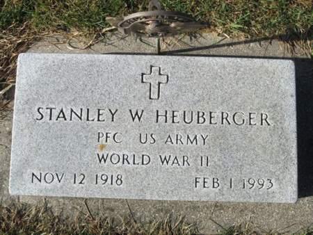 HEUBERGER, STANLEY W. - Franklin County, Iowa   STANLEY W. HEUBERGER