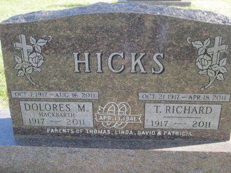 HICKS, DELORES M. - Franklin County, Iowa | DELORES M. HICKS