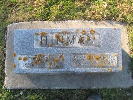 HINMAN, CHARLES A. - Franklin County, Iowa | CHARLES A. HINMAN