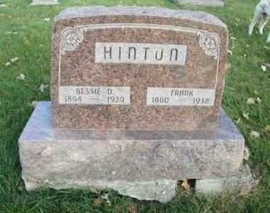 HINTON, FRANK - Franklin County, Iowa | FRANK HINTON