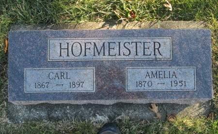 HOFMEISTER, AMELIA - Franklin County, Iowa   AMELIA HOFMEISTER