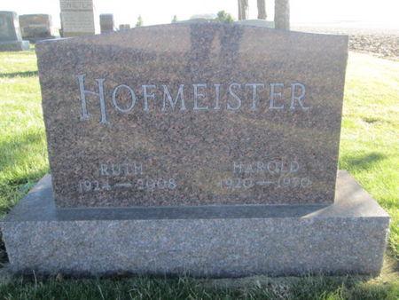 HOFMEISTER, HAROLD - Franklin County, Iowa   HAROLD HOFMEISTER