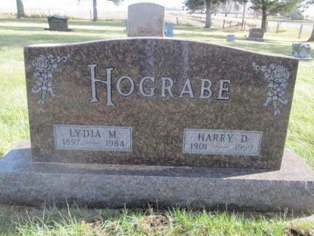 HOGRABE, HARRY D. - Franklin County, Iowa   HARRY D. HOGRABE