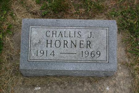 HORNER, CHALLIS J. - Franklin County, Iowa | CHALLIS J. HORNER