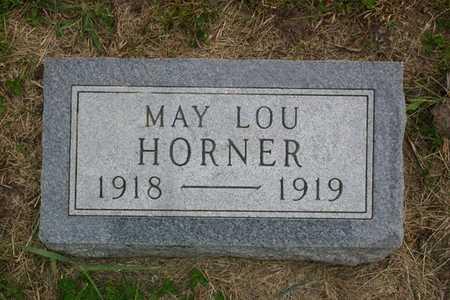 HORNER, MAY LOU