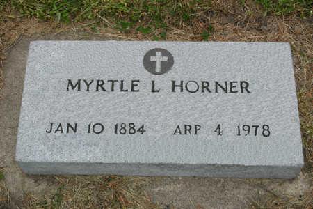 DOLSON HORNER, MYRTLE L. - Franklin County, Iowa | MYRTLE L. DOLSON HORNER