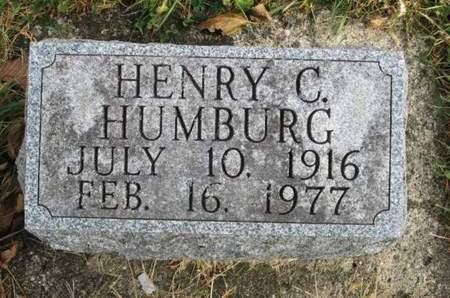 HUMBURG, HENRY C. - Franklin County, Iowa | HENRY C. HUMBURG