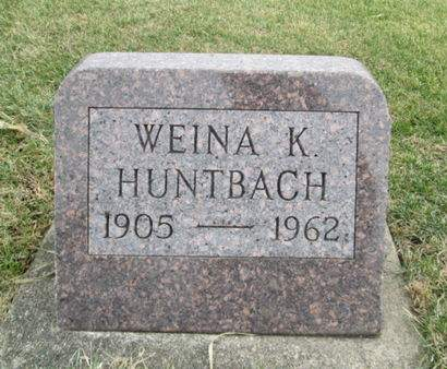 HUNTBACH, WEINA K. - Franklin County, Iowa | WEINA K. HUNTBACH