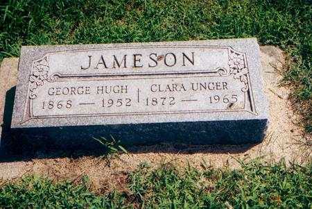 UNGER JAMESON, CLARA - Franklin County, Iowa | CLARA UNGER JAMESON