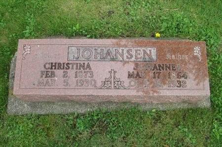 JOHANSEN, CHRISTINA - Franklin County, Iowa | CHRISTINA JOHANSEN
