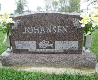 JOHANSEN, PERCY J. - Franklin County, Iowa   PERCY J. JOHANSEN