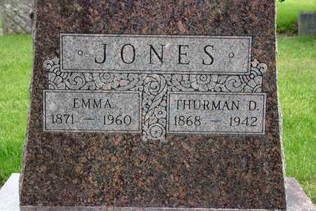 MARCH JONES, EMMA