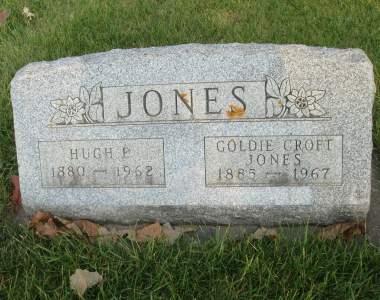 JONES, HUGH P. - Franklin County, Iowa   HUGH P. JONES