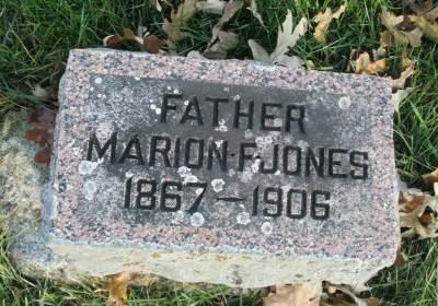 JONES, MARION F. - Franklin County, Iowa | MARION F. JONES