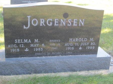 JORGENSEN, HAROLD M. - Franklin County, Iowa | HAROLD M. JORGENSEN