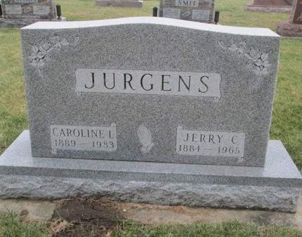 JURGENS, JERRY C. - Franklin County, Iowa | JERRY C. JURGENS