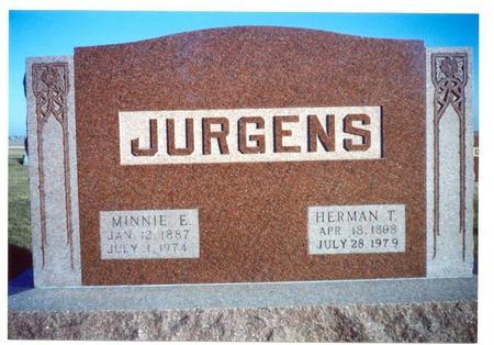 KOENEN JURGENS, MINNIE E. - Franklin County, Iowa | MINNIE E. KOENEN JURGENS
