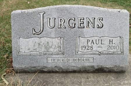 JURGENS, PAUL H. - Franklin County, Iowa | PAUL H. JURGENS