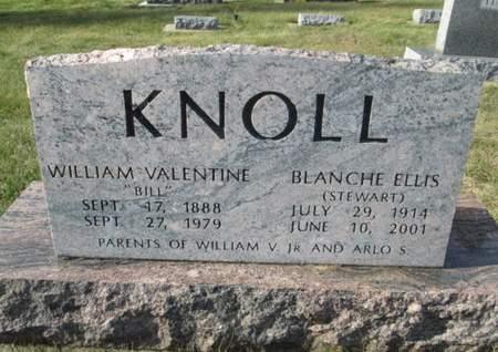 KNOLL, WILLIAM VALENTINE - Franklin County, Iowa | WILLIAM VALENTINE KNOLL