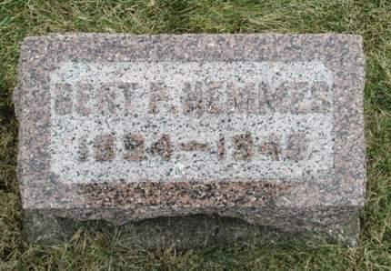 HEMMES, BERT P. - Franklin County, Iowa | BERT P. HEMMES