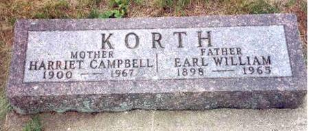 KORTH, EARL - Franklin County, Iowa | EARL KORTH
