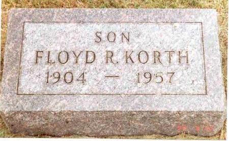 KORTH, FLOYD - Franklin County, Iowa | FLOYD KORTH