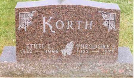 KORTH, ETHEL - Franklin County, Iowa | ETHEL KORTH