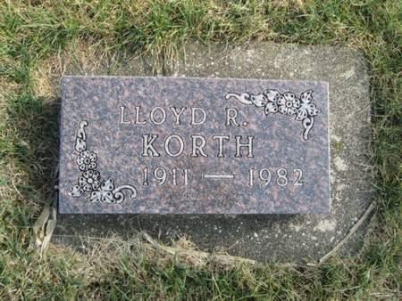 KORTH, LLOYD R. - Franklin County, Iowa   LLOYD R. KORTH