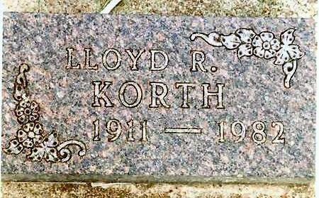 KORTH, LLOYD - Franklin County, Iowa | LLOYD KORTH