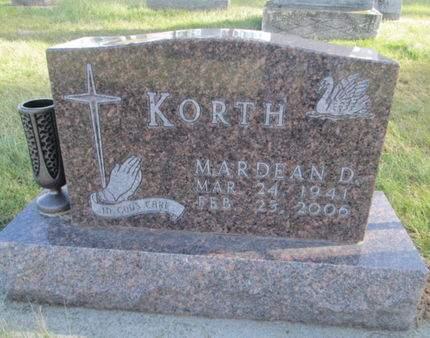 KORTH, MARDEAN D. - Franklin County, Iowa | MARDEAN D. KORTH