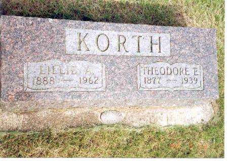 KORTH, THEODORE - Franklin County, Iowa | THEODORE KORTH