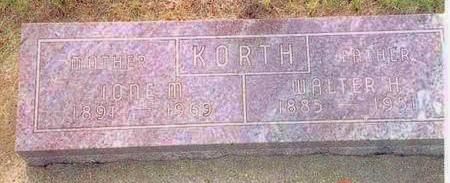 KORTH, IONE - Franklin County, Iowa | IONE KORTH