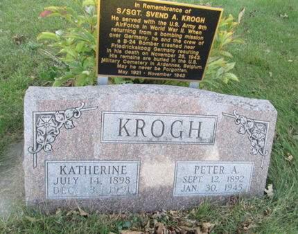KROGH, KATHERINE - Franklin County, Iowa   KATHERINE KROGH