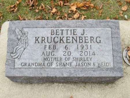 KRUCKENBERG, BETTIE J. - Franklin County, Iowa   BETTIE J. KRUCKENBERG