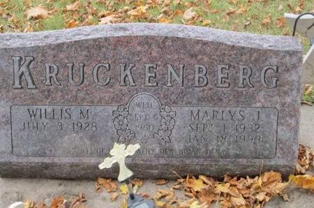 KRUCKENBERG, MARLYS J. - Franklin County, Iowa   MARLYS J. KRUCKENBERG