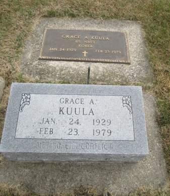 KUULA, GRACE A. - Franklin County, Iowa | GRACE A. KUULA