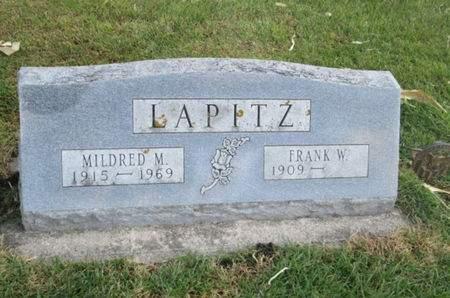 LAPITZ, FRANK W. - Franklin County, Iowa | FRANK W. LAPITZ