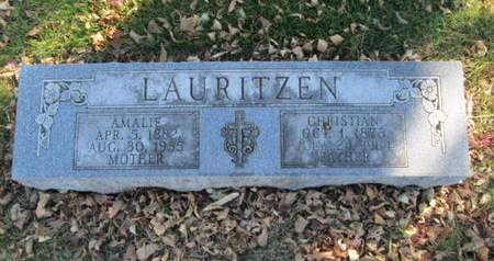 LAURITZEN, CHRISTIAN - Franklin County, Iowa | CHRISTIAN LAURITZEN